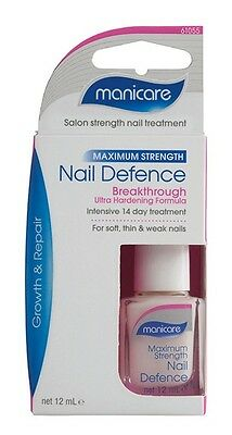 MANICARE NAIL DEFENCE ULTRA HARDENING FORMULA GROWTH & REPAIR 12ml