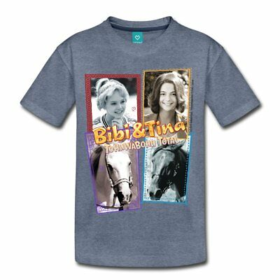 Bibi Und Tina Tohuwabohu Total Sabrina Collage Teenager Premium T-Shirt von