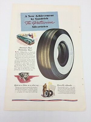 Vtg 1940s BF Goodrich Tires Met Life Mutual Advertising National Geographic