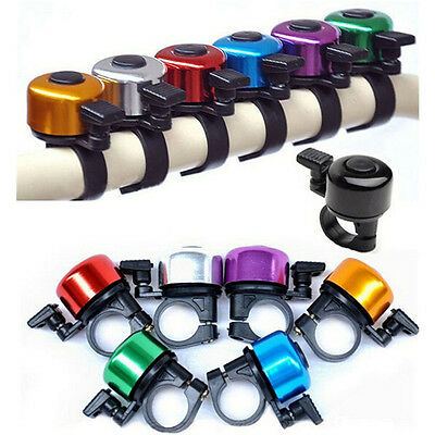 Sport Bike Bicycle Cycling Bell Metal Horn Ring Safety Sound Alarm Handlebar RW.