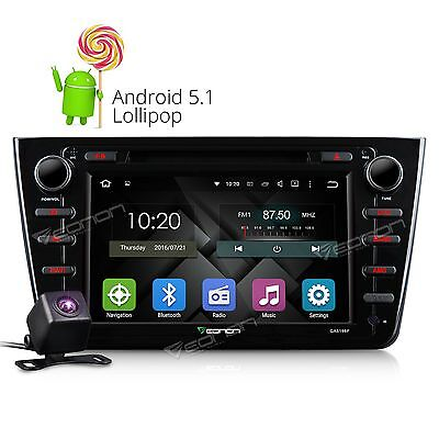 "Perfect fits Mazda 6 8"" HD Android 5.1 Car DVD Player GPS I With Free Rear Cam+"