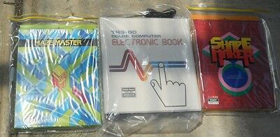 Electronic Book + 2 titles for the Tandy TRS-80 Color Computer Coco 1 2 3