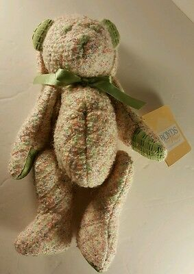 """Boyds Bear Quilted Bear  11"""" Bear Bag from Boyds Home Collection LTD"""