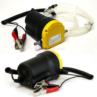 Oil Diesel 5A 12V Fuel Fluid Extractor Electric Transfer Scavenge Suction Pump