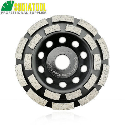 5 inch Diamond Double Row Grinding Cup Wheel 125MM disc concrete granite marble