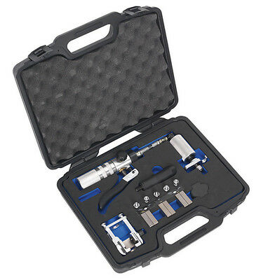 On-Vehicle Hydraulic Brake Pipe Flaring Tool From Sealey Pft15