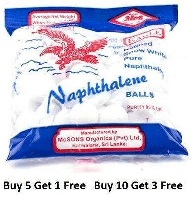 Naphthalene Balls, Moth balls,Toilets,Cupboards,Books and Cloth MothBalls 100g