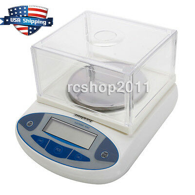 2000G x 0.01G Electronic Digital Balance Laboratory Weight Precision Scale in US