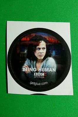 "Being Human Lenora Chrichlow Annie Bbc Photo Tv Sm 1.5"" Getglue Get Glue Sticker"