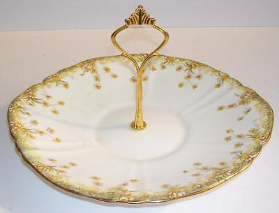 Vintage W.A.A. & Co. Gilded Rim Cake/Sandwich Stand.