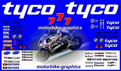 BMW TYCO BSB Laverty 2015 Full Race Decals Graphics Stickers