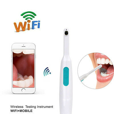 6 LED 720P WiFi Wireless Intra Oral Camera Home Oral Dental Care Tools For IOS