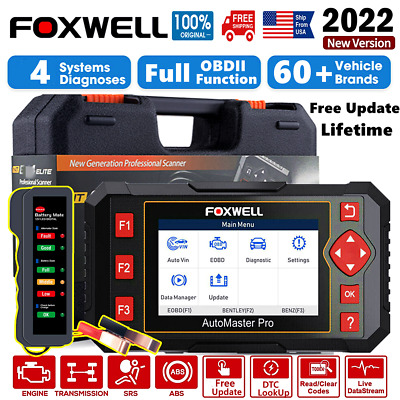 ABS Airbag SRS Reset SAS Scan OBD Diagnostic Scanner DTC Clear ANCEL AD610 Elite
