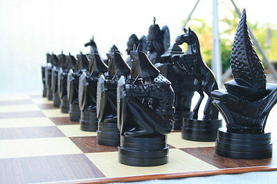 Conquest 20cm High Chess Pieces