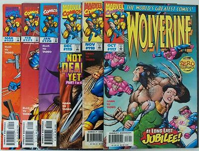 6 issues Wolverine - Issue # 117,118,119,120,121,122 - Marvel - NM/VF (2749)