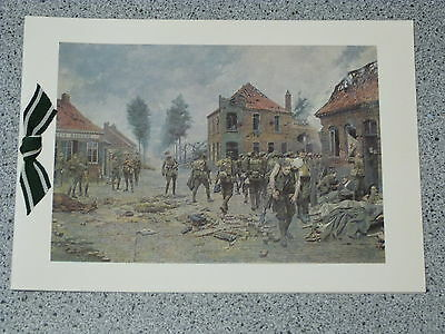 Regimental Christmas Card 4th/5th Battalion THE GREEN HOWARDS (T.A.)