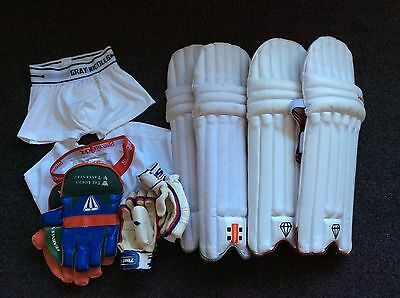 Cricket pads Pack , Gloves, Etc Youth Size