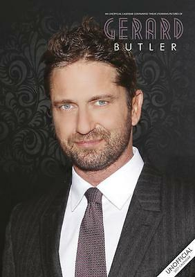Gerard Butler 2017 Large Poster Wall Calendar New With Free Uk Postage !!