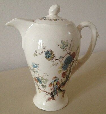 Vintage Royal Couldon Tea/Coffee Pot Made Especially for Twinings