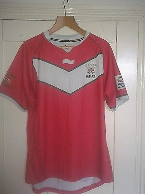 Wales - XL Size - Rugby League Four Nations Shirt