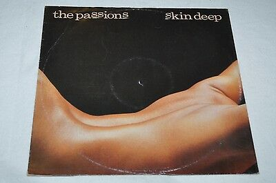 """The Passions - Skin Deep - 12"""" Polydor"""