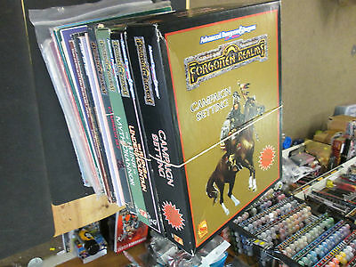 AD&D Forgotten Realms Box Sets Modules VGC TSR Multilist Dungeons Dragons 2nd Ed