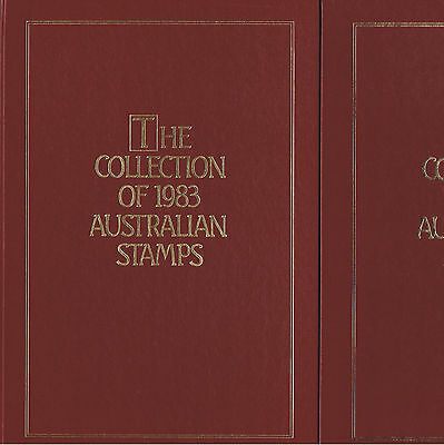 1983 Australia Post Deluxe Collection Yearbook Album with all Stamps