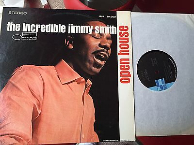 The Incredible Jimmy Smith - Open House - Us Blue Note A/b Lp