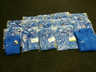 15 Joblot Joma Royal Blue Alaska || Rain Jacket Mixed Sizes