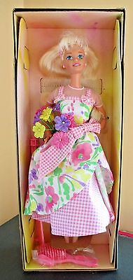 Avon Exclusive Spring PETALS Barbie Collectible Doll NRFB 1996 2nd Series #16746
