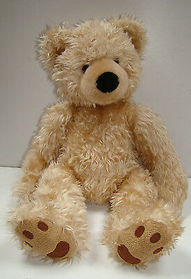 """Russ Berrie Teddy Bear From The Past Beckett Plush Soft Toy 19"""" Immaculate"""