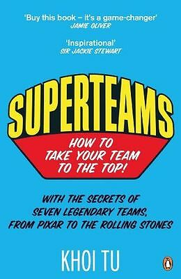 **NEW** - Superteams: How to Take Your Team to the Top (Paperback) 0241959799