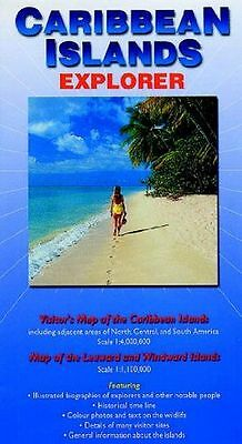 Caribbean Islands Explorer: Visitor's Map of the Caribbean (Map) 0954371704