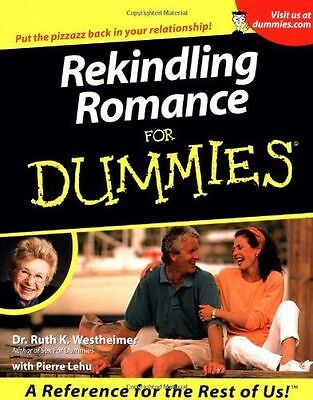 **NEW** - Rekindling Romance For Dummies (Paperback) 0764553038