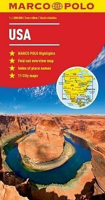 **NEW** - USA Marco Polo Map (Marco Polo Maps) (Map) 3829767390