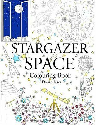 **NEW** - Stargazer Space: Colouring Book (Paperback) 1908072776