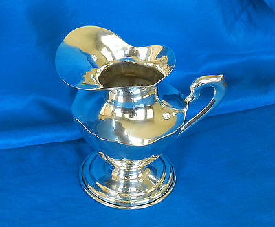 """Vintage Mexico Small Sterling Silver Pitcher *5 ¼"""" Tall* *11.56 ozt*  *Ca. 1950*"""