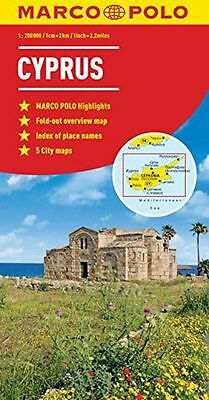 **NEW** - Cyprus Marco Polo Map (Marco Polo Maps) (Map) 3829767536