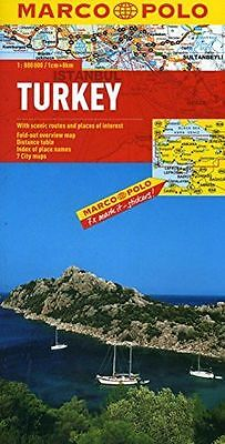 **NEW** - Turkey Marco Polo Map (Marco Polo Maps) (Map) 3829767277