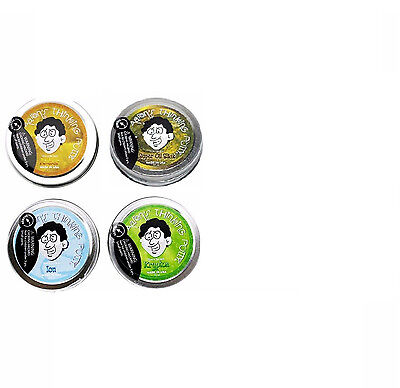 Crazy Aaron's Thinking Putty Mini Tin Complete Bundle Gift Set 4 PACK 2 inch tin
