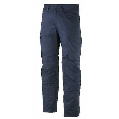 Snickers Trousers 6801 Service Line Snickers Trouser With Knee Guard Navy