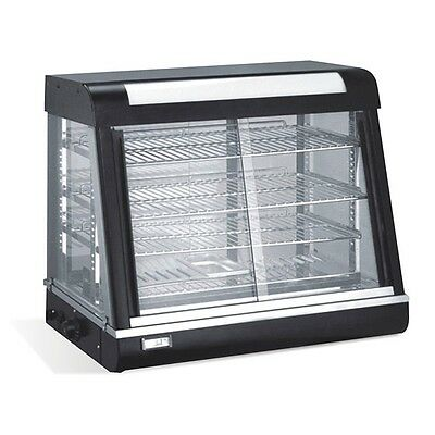 """Heated Food Display  + Humidity control 26x20x25""""  Sliding doors: Front and Back"""
