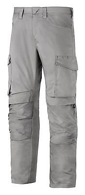 Snickers Trousers 6801 Service Line Snickers Trouser With Knee Guard Grey