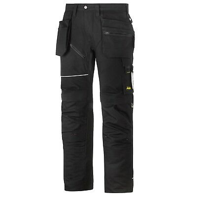 Snickers Trousers 6215 Ruffwork Holster Pocket Trousers Black Snickers Direct