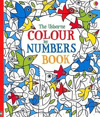 **NEW** - Colour by Numbers Book (Paperback) 1409536459
