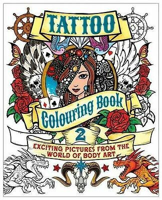 **NEW** - Tattoo Colouring Book 2 (Paperback) 1784041831
