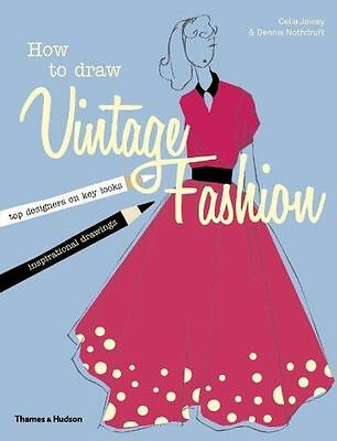 **NEW** - How to Draw Vintage Fashion (Paperback) 0500650373