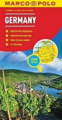**NEW** - Germany Marco Polo Map (Map) 3829767196