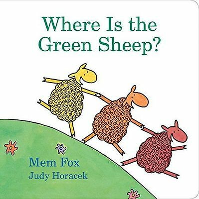 **NEW** - Where Is the Green Sheep? (Board book) 0152067043