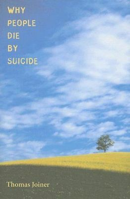**NEW** - Why People Die by Suicide (Paperback) 0674025490